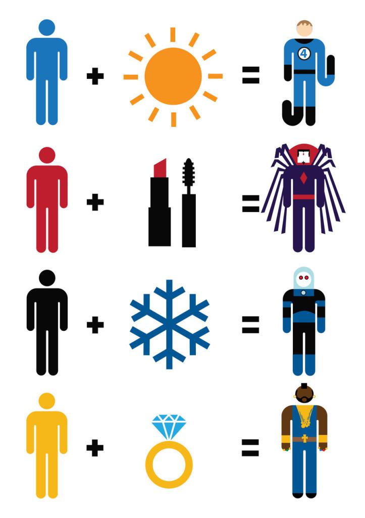 Simple Math -Superheroes14