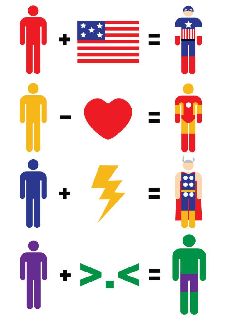 Simple Math -Superheroes15