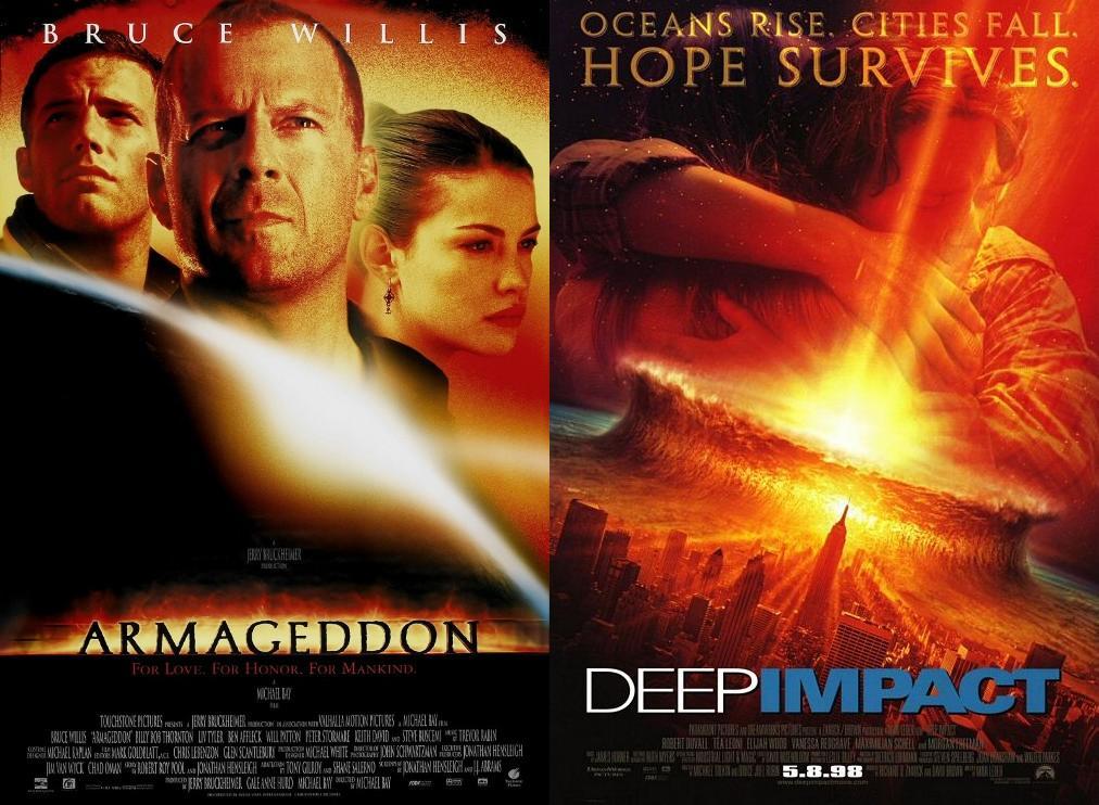 Armageddon and Deep Impact - 1998