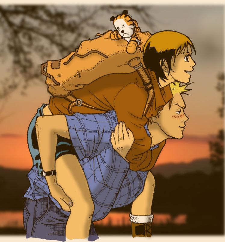 Calvin-Hobbes-Suzie