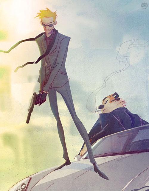 Calvin-Hobbes-secret-agent