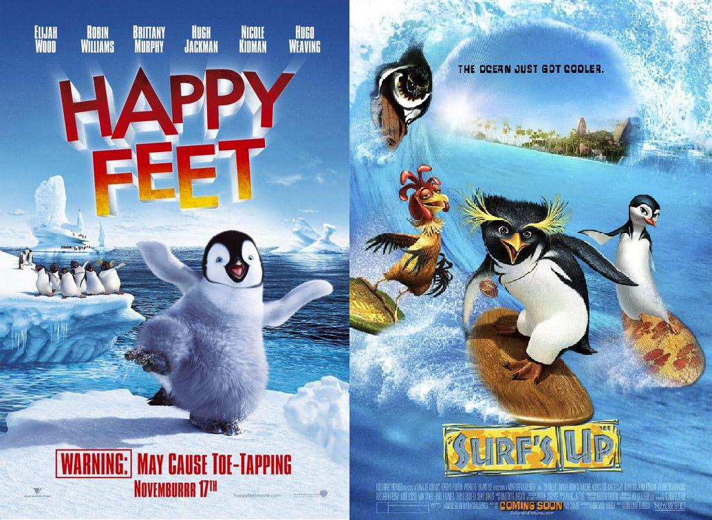 Happy Feet (2006) and Surf's Up (2007)