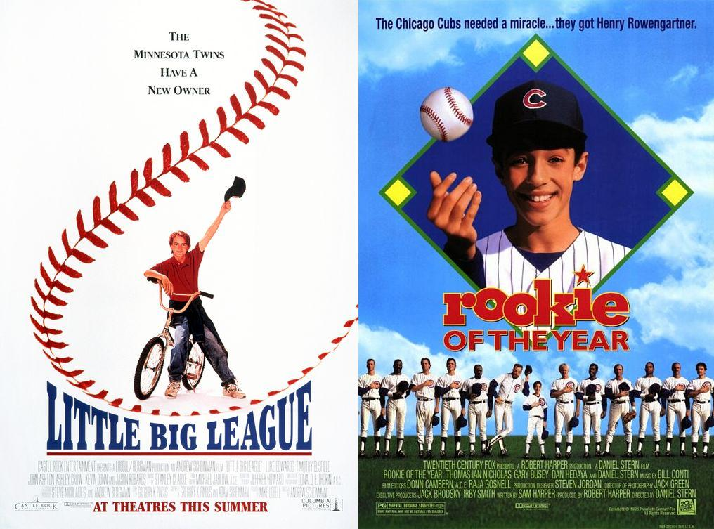 Little Big League (1994) & Rookie of the Year (1993)