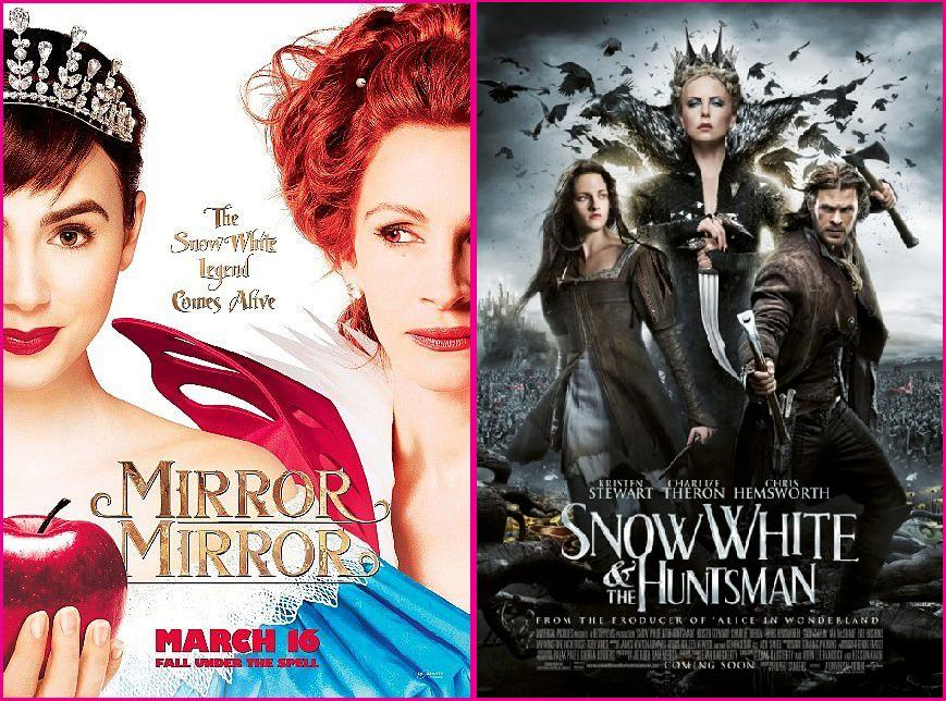 Mirror Mirror & Snow White and the Huntsman - 2012