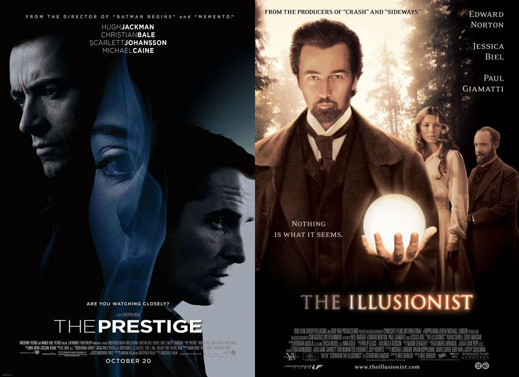 The Prestige & The Illusionist - 2006