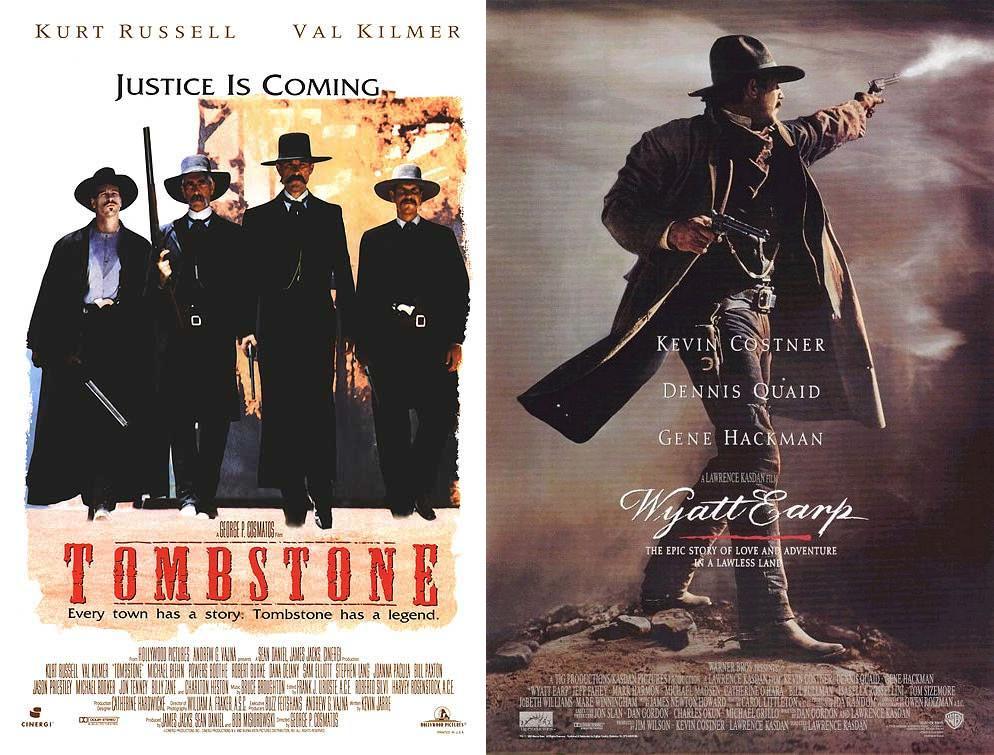 Tombstone (1993) & Wyatt Earp (1994)