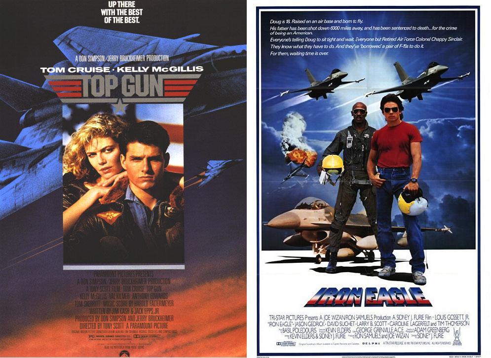Top Gun & Iron Eagle - 1986