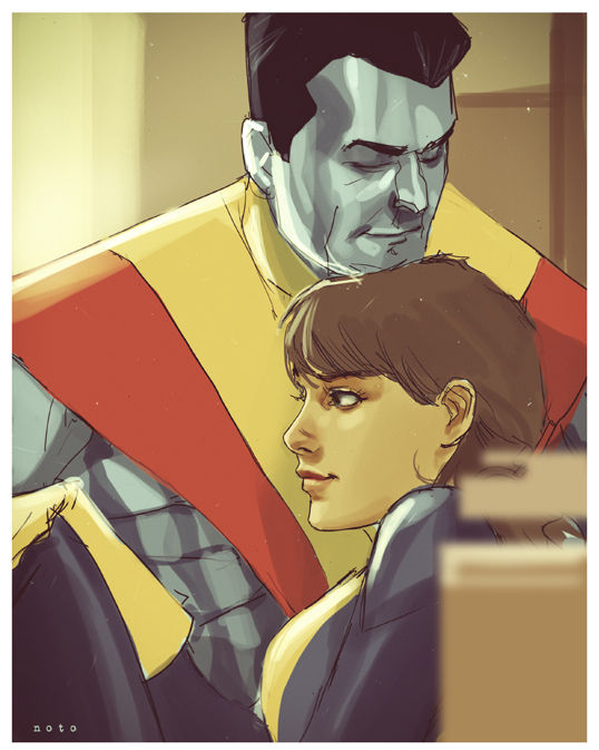 Colossus-Shadowcat-Phil-Noto