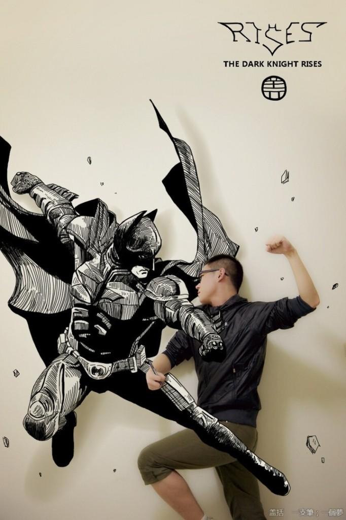 Taking on the Dark Knight