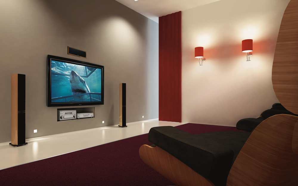 Plasma TV in a Home Theater