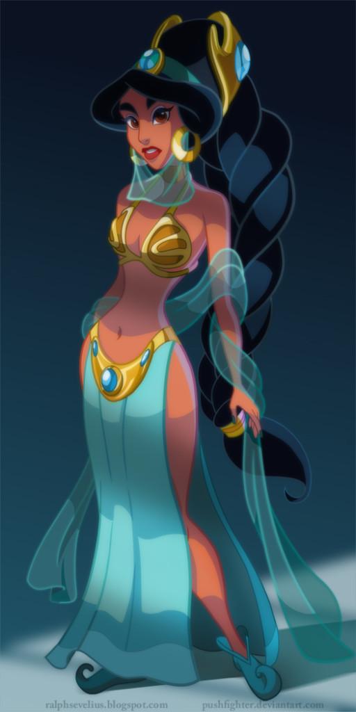 Aladdin's Jasmine in Jabba's Palace