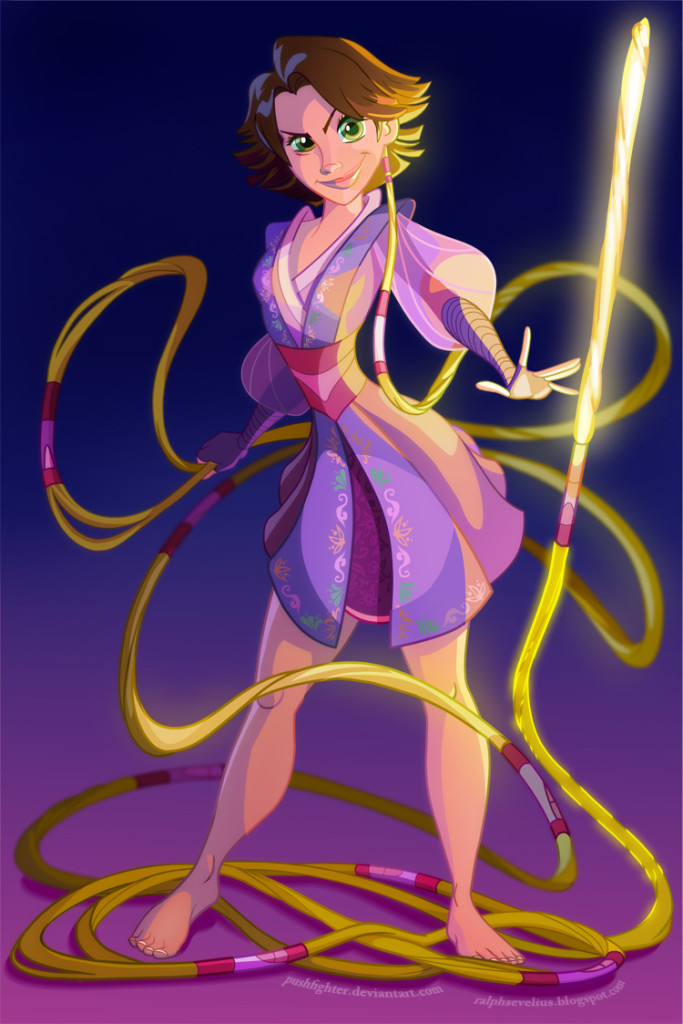 Rapunzel as a Jedi Consular