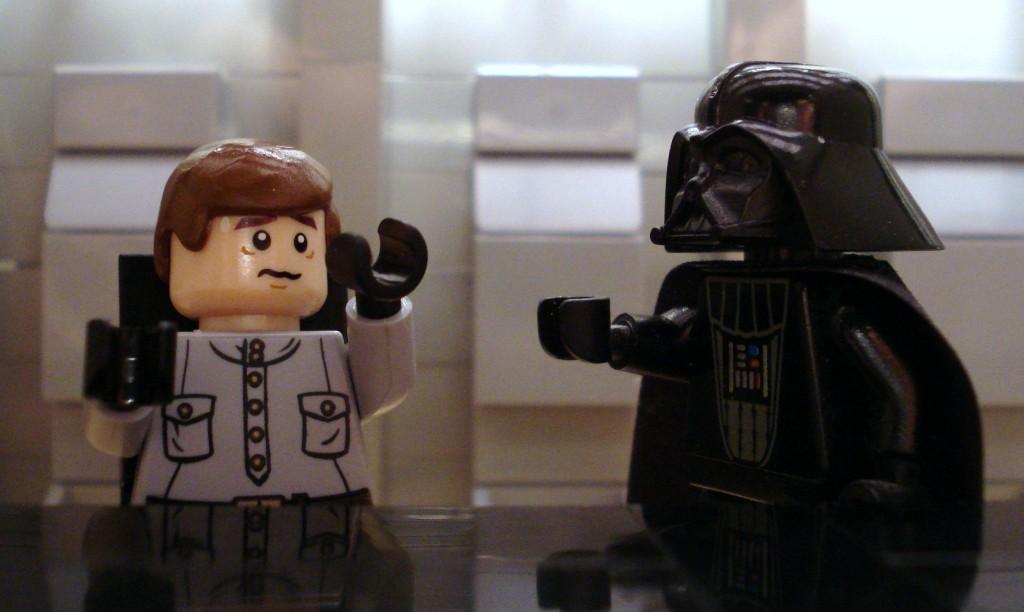 Star Wars Vader choke scene