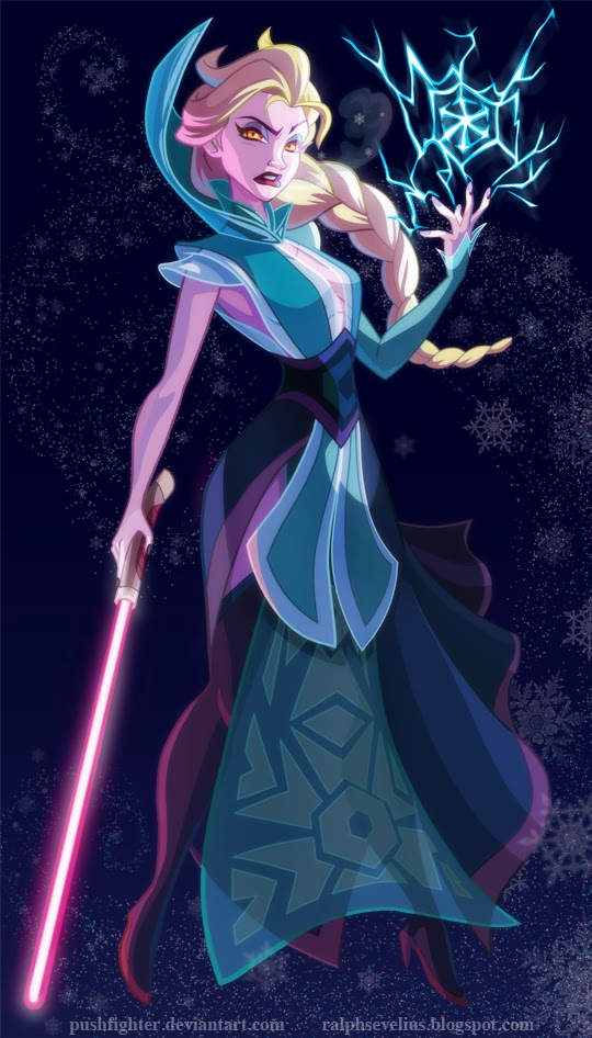 Elsa as a Stih Lord
