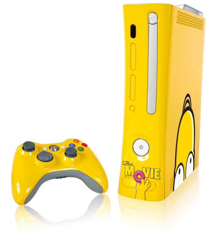 Xbox-360-Simpsons-Movie-Edition