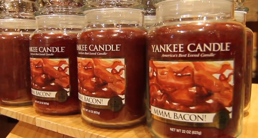 Yankee Candle MMM, Bacon candles
