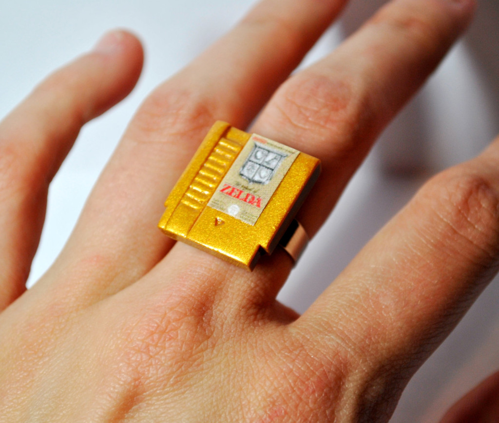 The Legend of Zelda Cartridge Ring