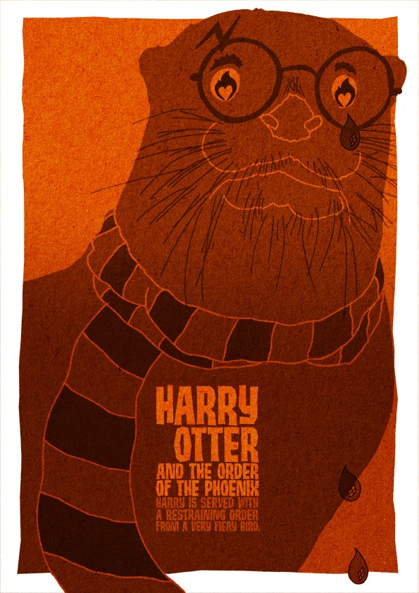 Harry Otter and the Order of the Phoenix movie posters