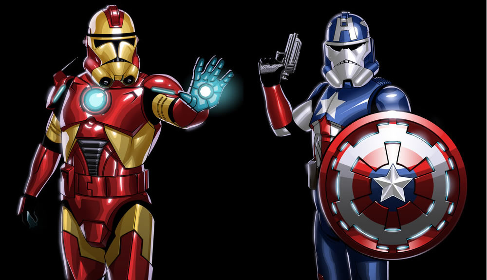 What If The Avengers Were Star Wars Stormtroopers