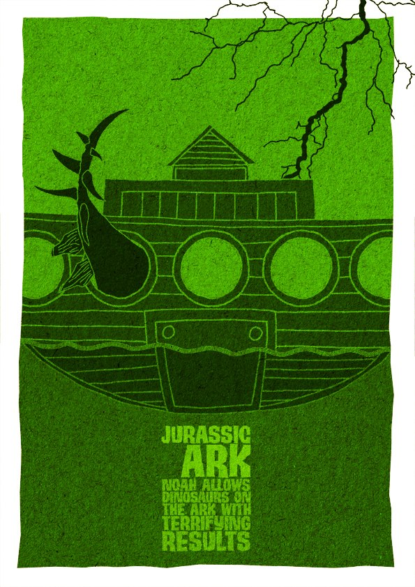 Jurassic Ark: Noah Allows dinosaurs on the ark