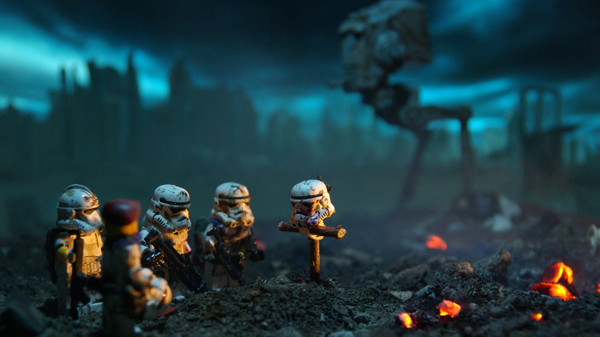 13 Amusing Photos Of LEGO Star Wars Characters