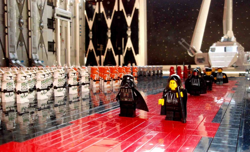 LEGO Return of the Jedi Scene on the Death Star