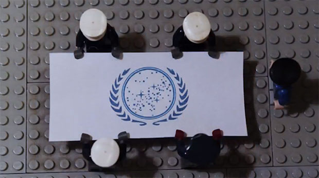 In service of the LEGO federation.