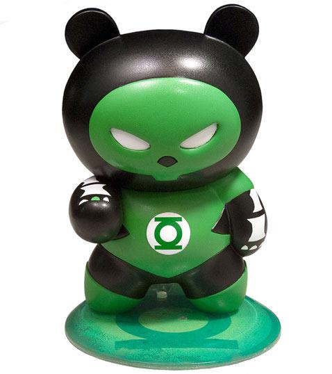 Toynami Skelanimals DC SuperHeroes ChungKee the Panda as Green Lantern