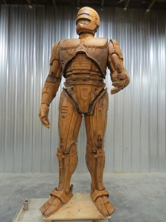 RoboCop Statue Pre-production