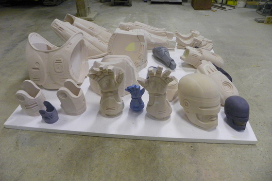 RoboCop Pre-production bits