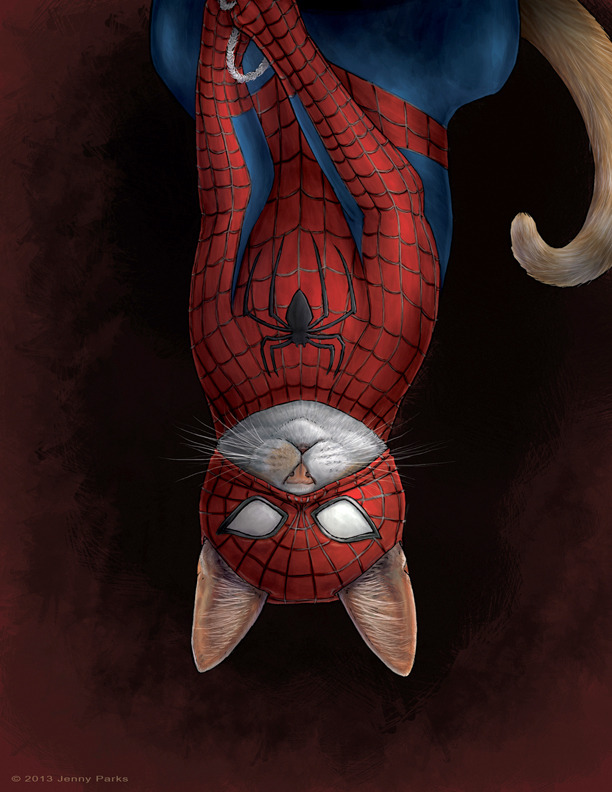 Spider-man as Spidey Cat