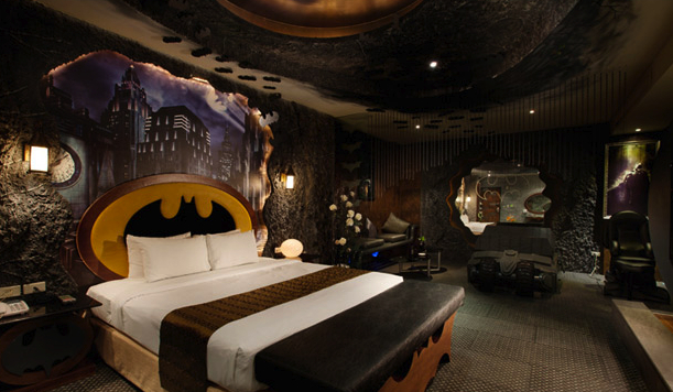 Superman Hotel Room