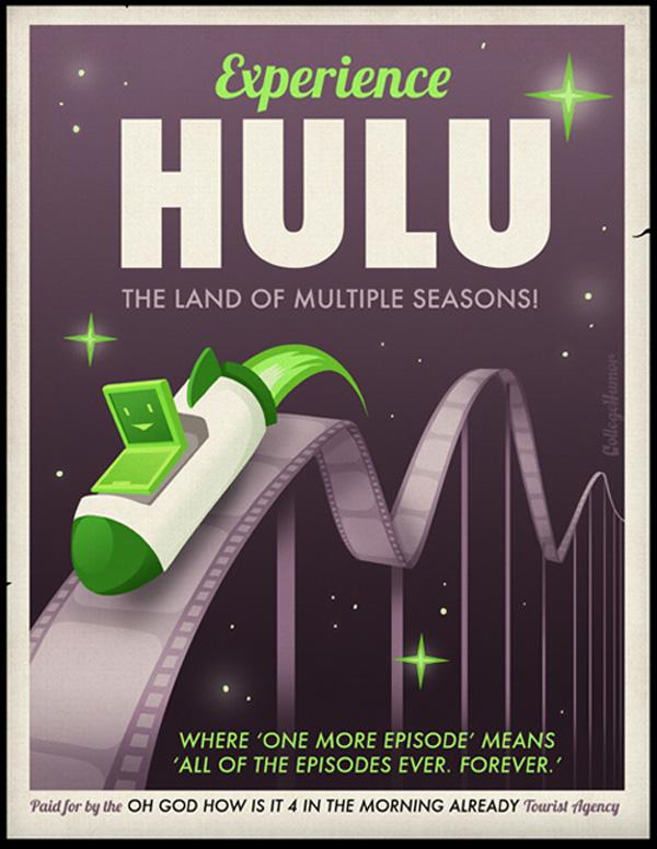 Experience Hulu: The Land of Multiple Seasons