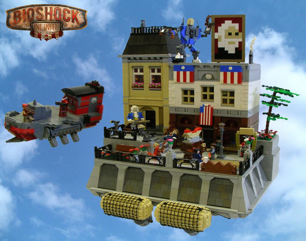 Bioshock Infinite's Columbia in the sky