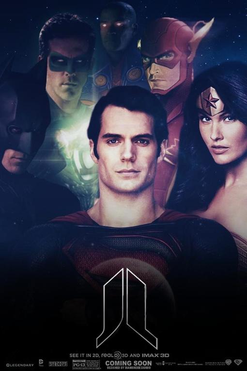 Superman, Green Lantern, Wonder Woman, the Flash