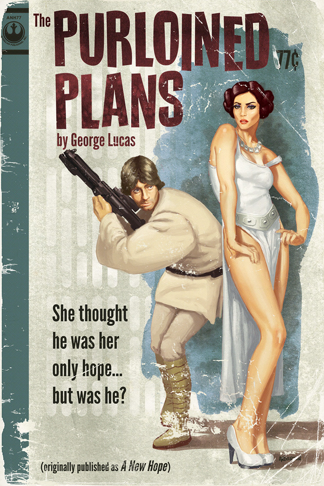 Star Wars: A New Hope in pulp form
