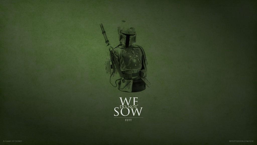 We Do Not Sow: Boba Fett