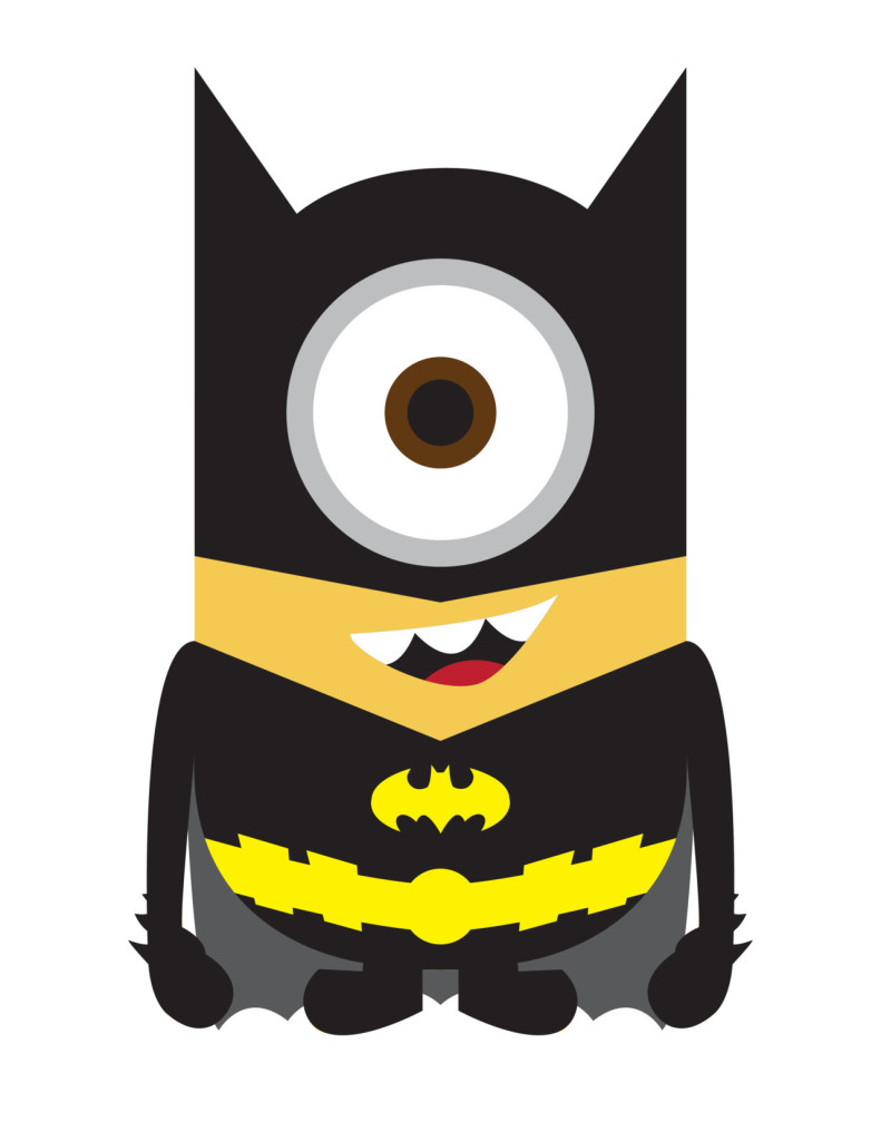 Despicable Me 2 Batman Minion