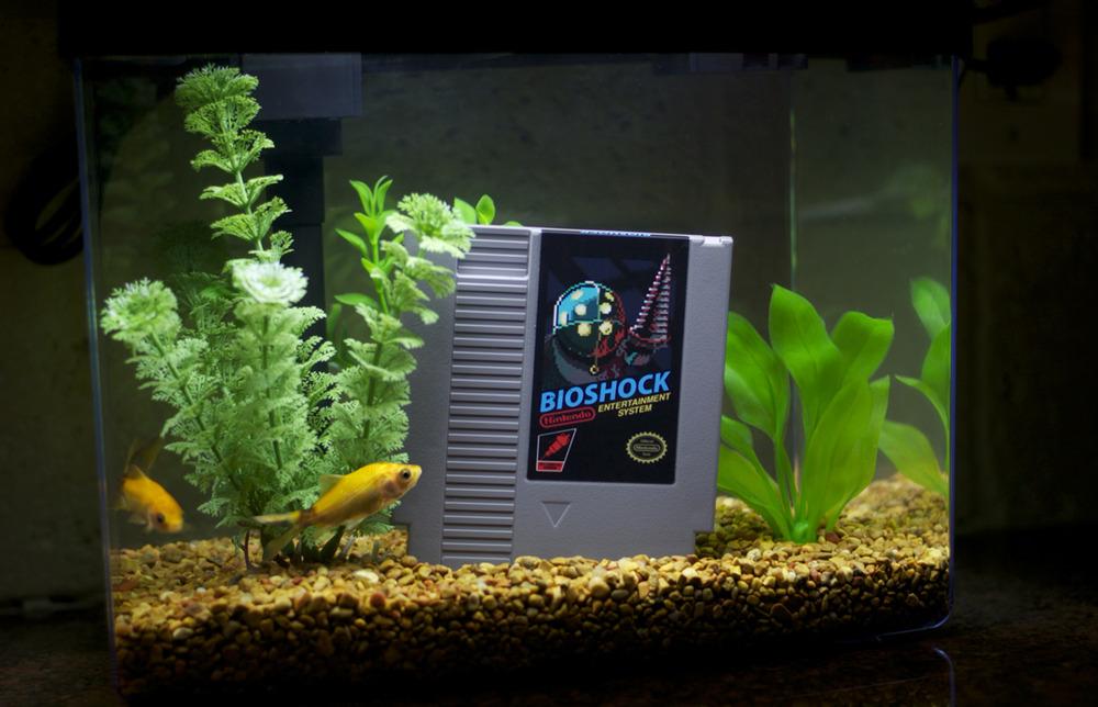 Bioshock in fish tank