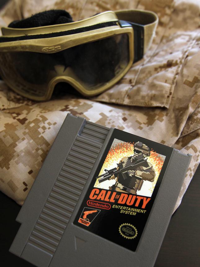 Call of Duty NES cart