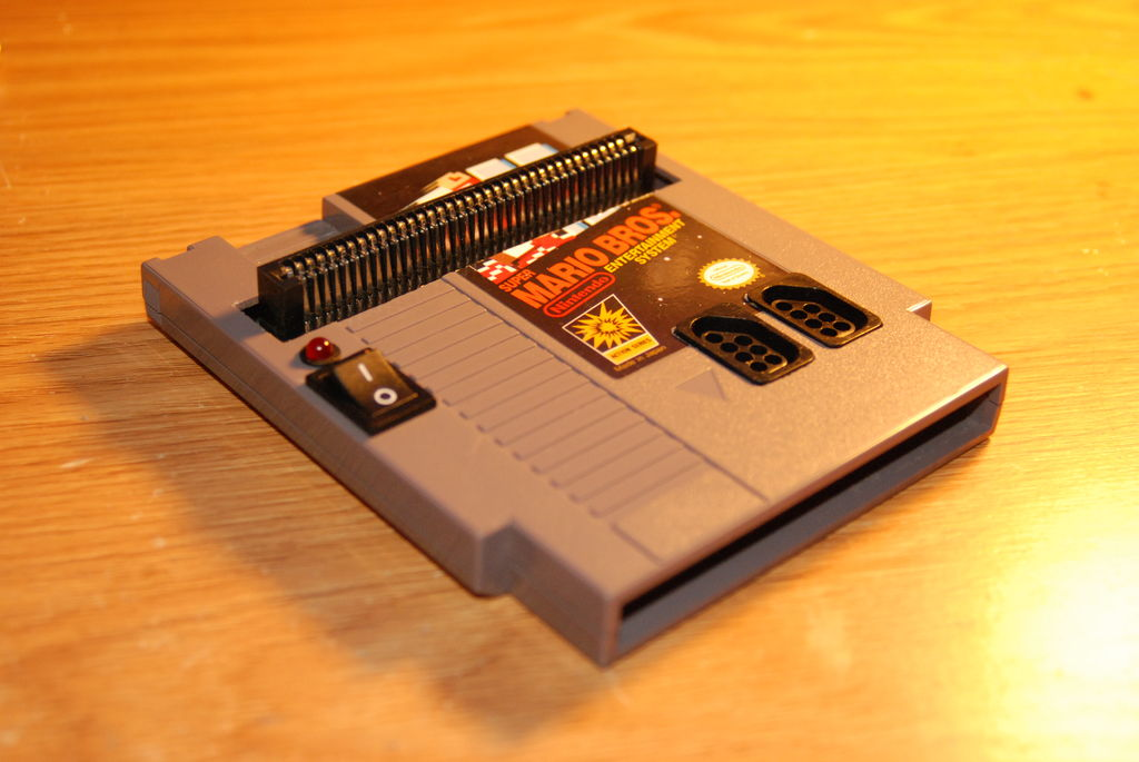 Fitting a Nintendo into the cartridge