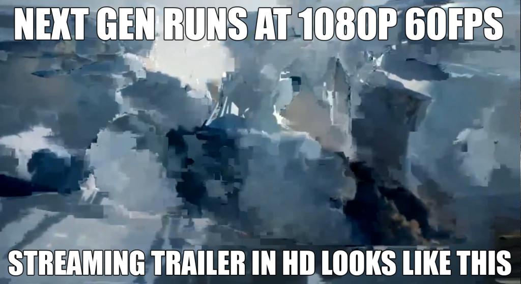 Choppy framerate streaming video