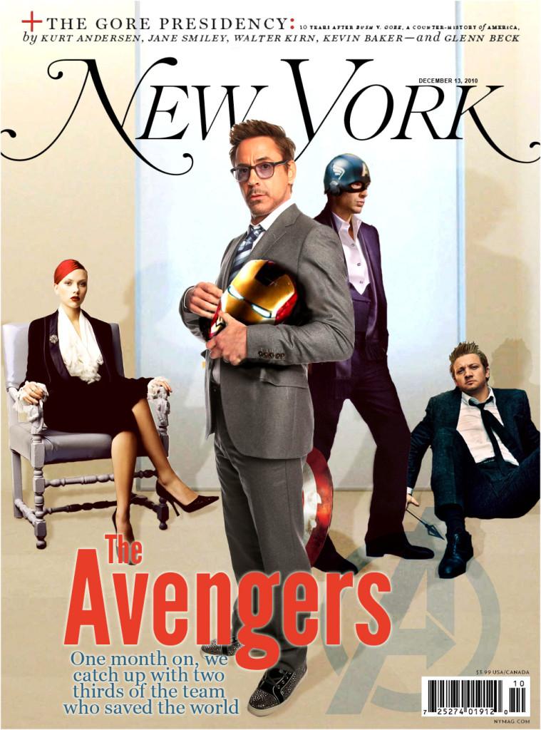 New York Magazine Avengers Cover