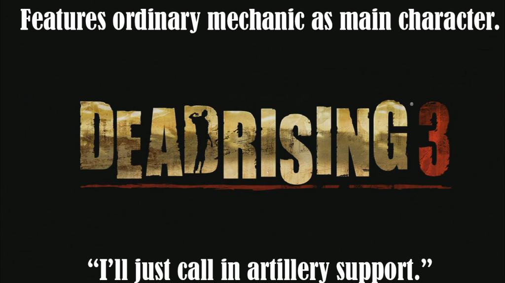 Dead Rising silliness