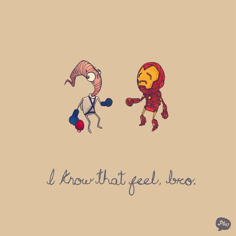 Earthworm Jim and Iron Man