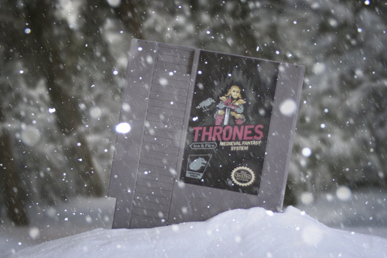 Game of Thrones in the snow