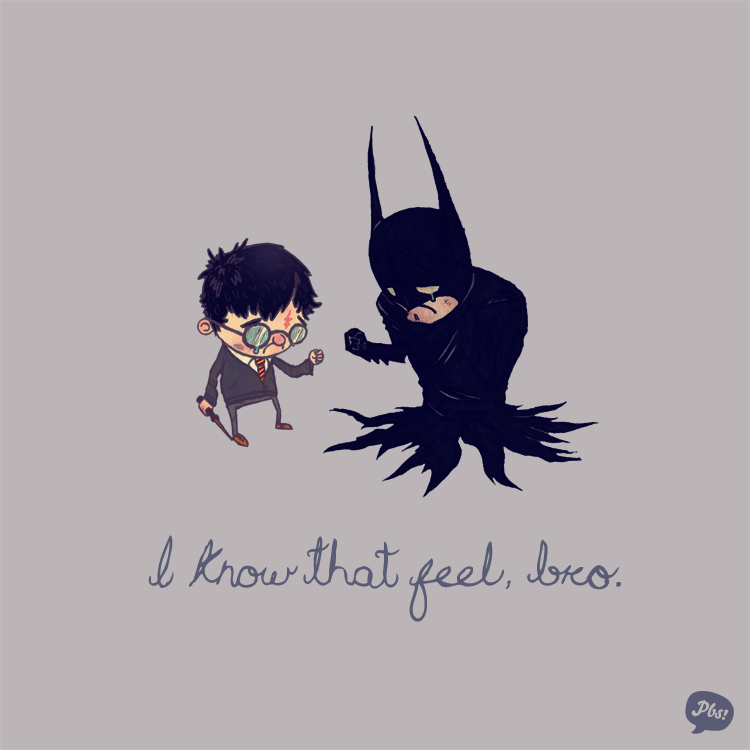 Harry Potter and Batman