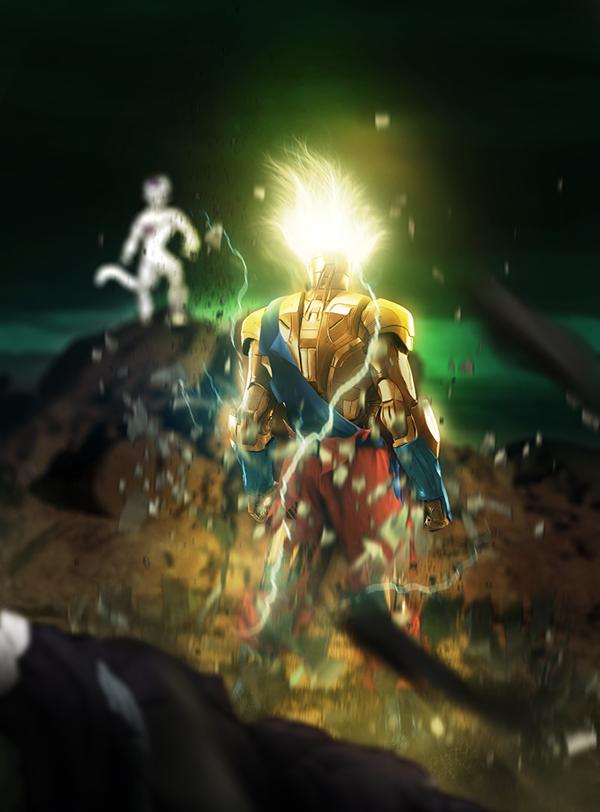 Iron Son Goku from Dragonball
