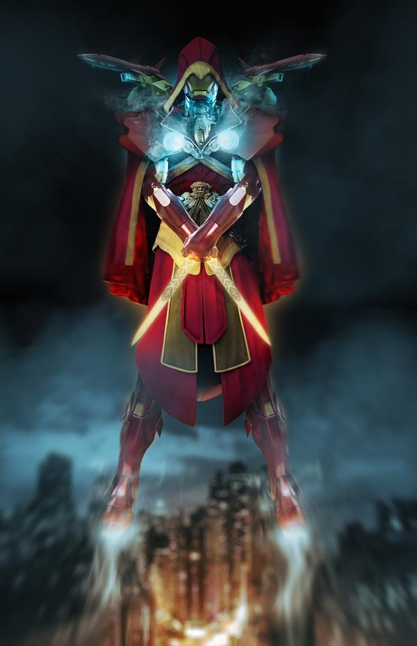 Iron Ezio from Assassin's Creed