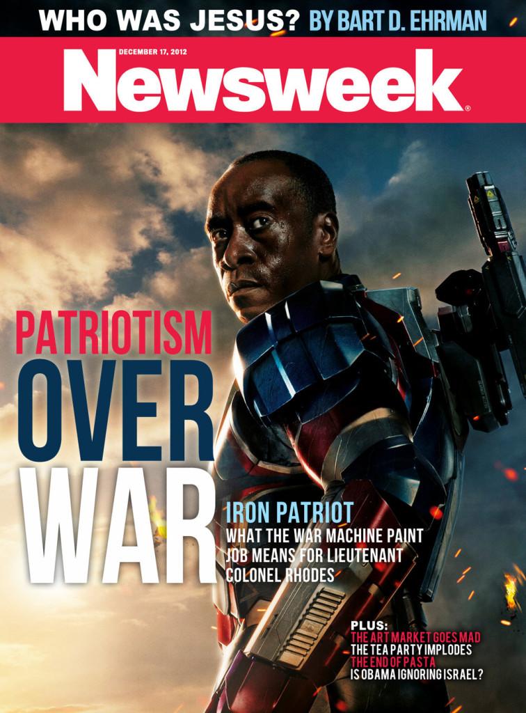 Newsweek Iron Patriot cover